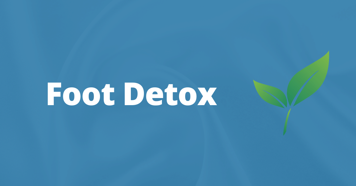 Foot Detox, Ionic Detox Machine