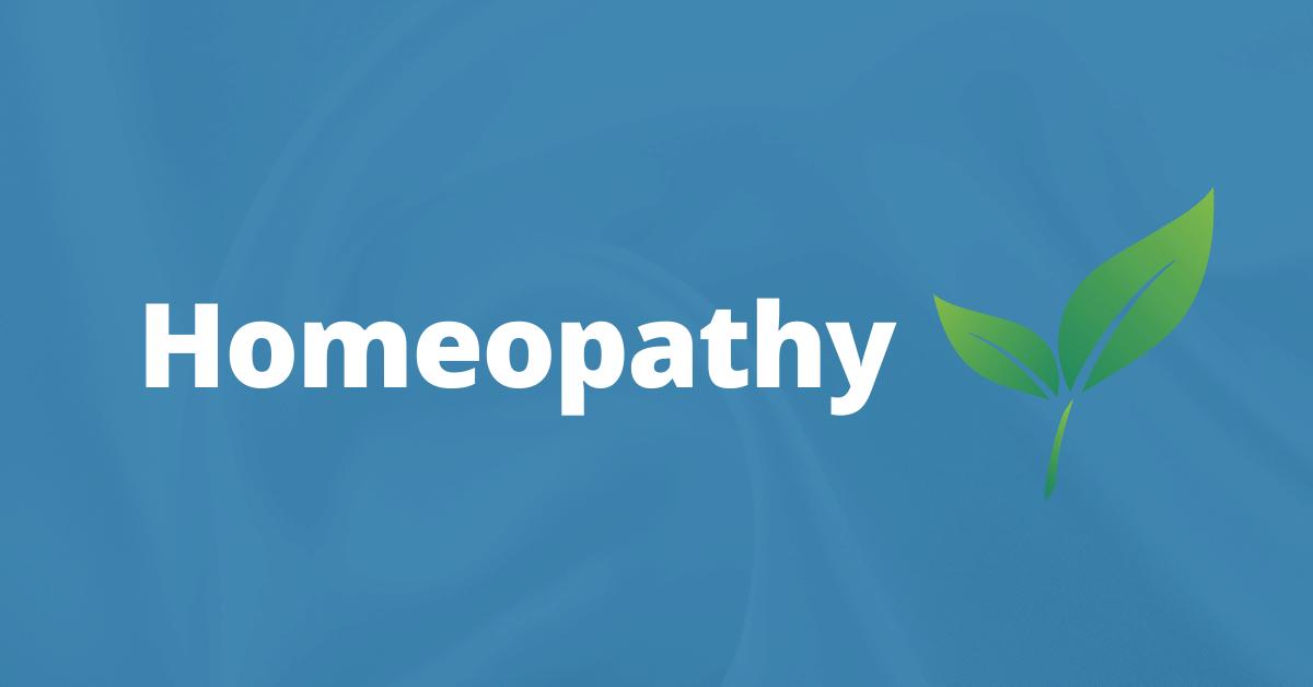 Homeopathy – Natural Medicine