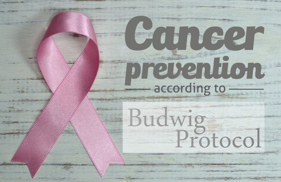 Cancer Prevention According to The Budwig Protocol