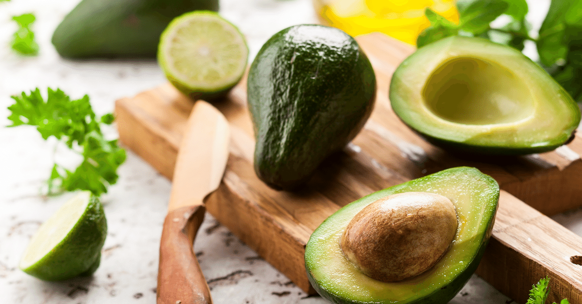 Avocados are excellent for liver and heart health