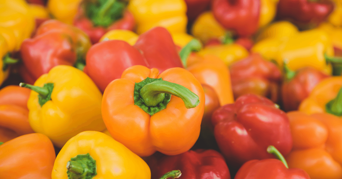 Peppers are delicious nutrient-rich foods